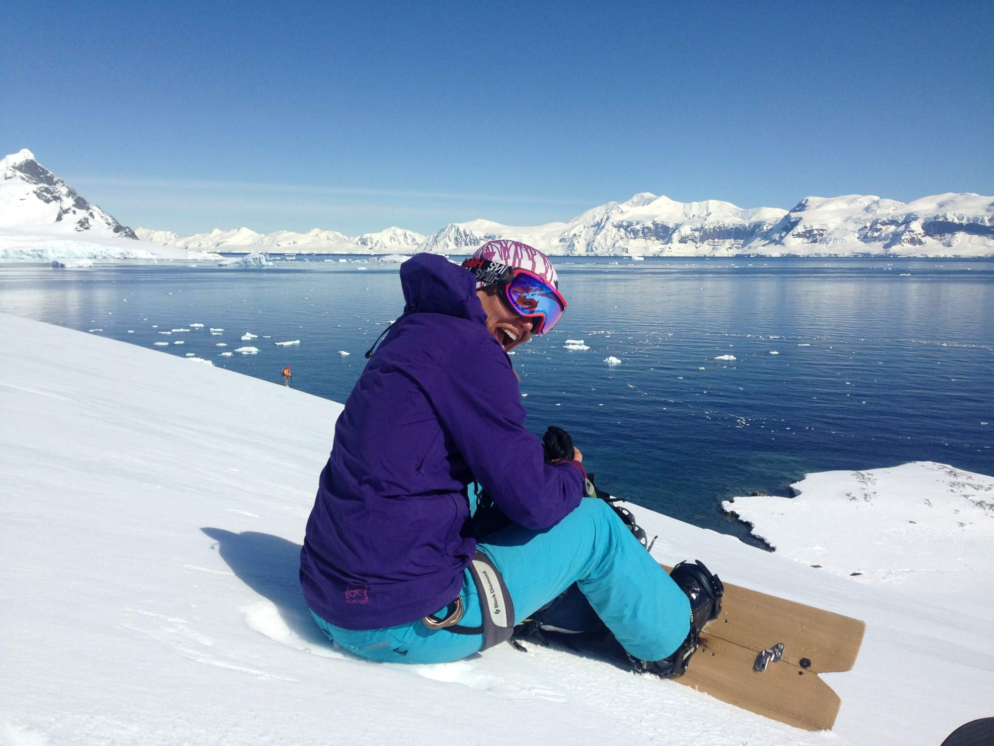 Snowboarding at the bottom of the world southern for Can anyone visit antarctica